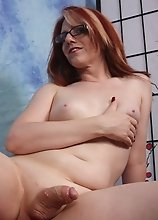 Wendy has tension in her cock... want to relieve it for her?